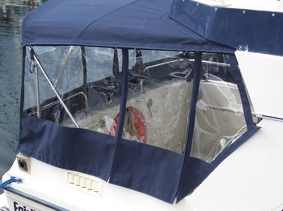 Side Panels Custom Canvas Boat Tops Covers Amp Upholstery